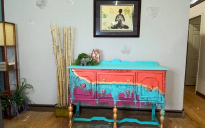 Learn this Southwest Boho Copper Patina Paint Finish (ESTY Tutorial Purchase)