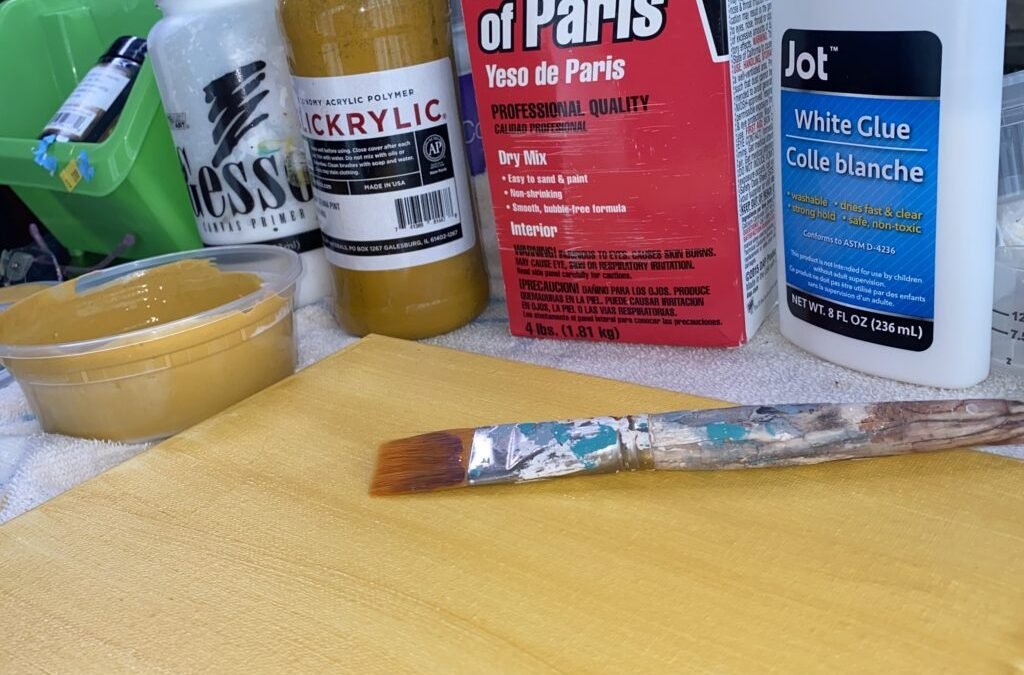 Make Your Own Gesso
