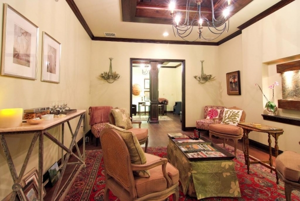 waiting room, spa lounge, new orleans