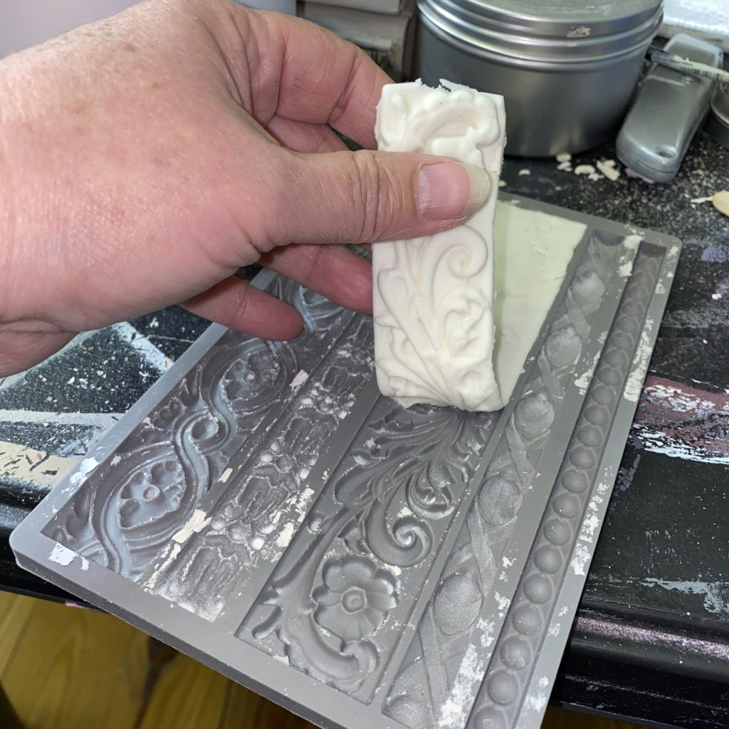 Iod mould, air dry clay