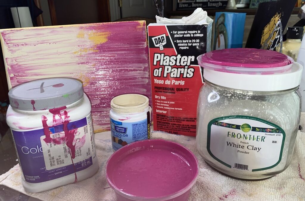 Make Your Own Chalky + Clay Paint