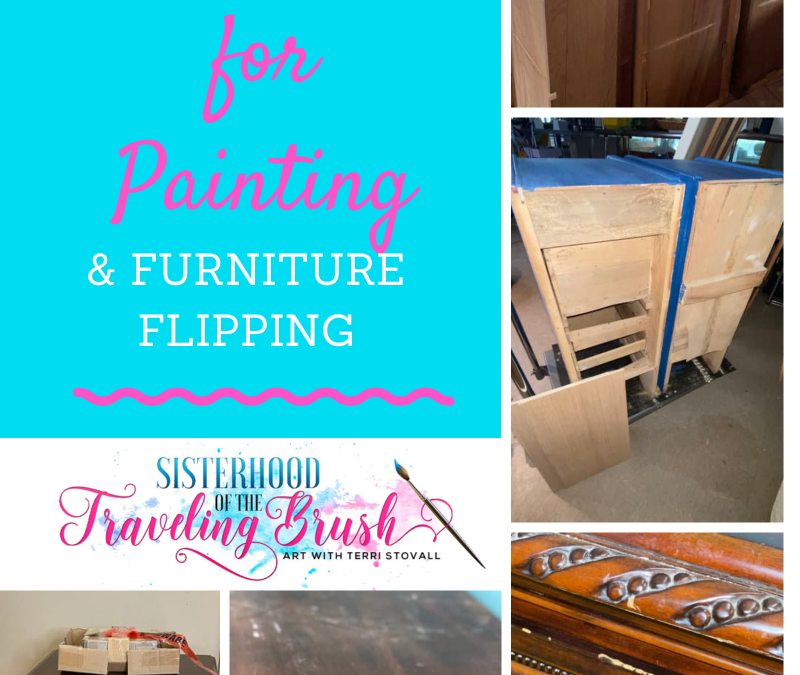 How to Choose Furniture for Flipping and Painting